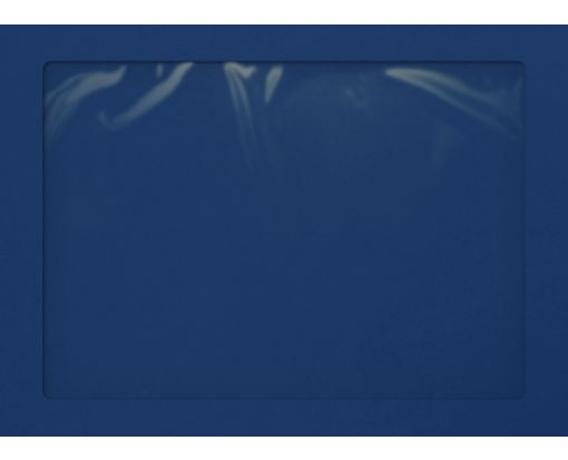9 x 12 Full Face Window Envelopes Navy