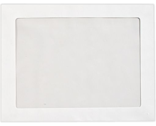 9 x 12 Full Face Window Envelopes 28lb. Bright White