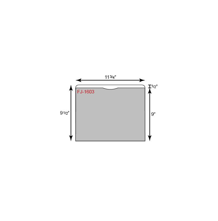 "File Folder - Standard (11 3/4"" x 9 1/2"")"