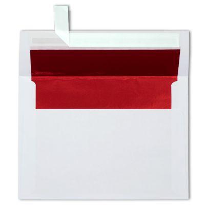 Do you lick lined envelopes