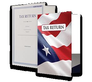 9 x12 Presentation Tax Folders   Folders.com