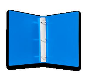 Plastic Three Ring Tuffy Binders | Folders.com