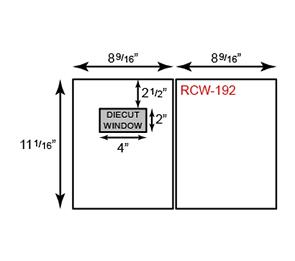 Report Covers - Two Piece w/ Window ( 8 3/4 x 11 1/4) | Folders.com