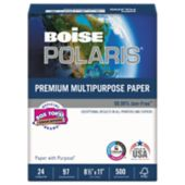 8 1/2 x 11 Boise Premium Multipurpose Paper - 3 Hole Punch