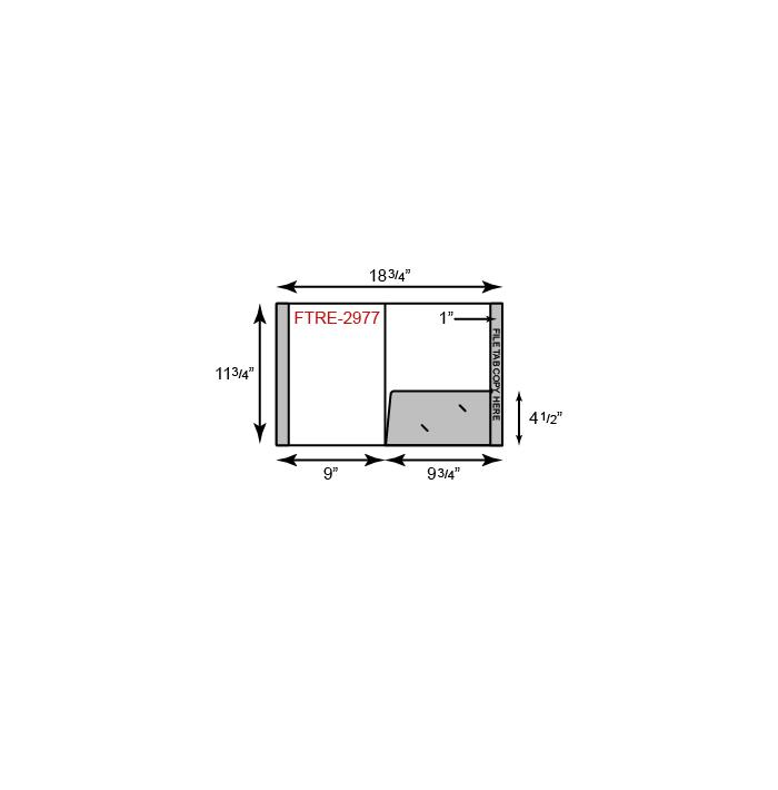 Reinforced Folder - One Pocket