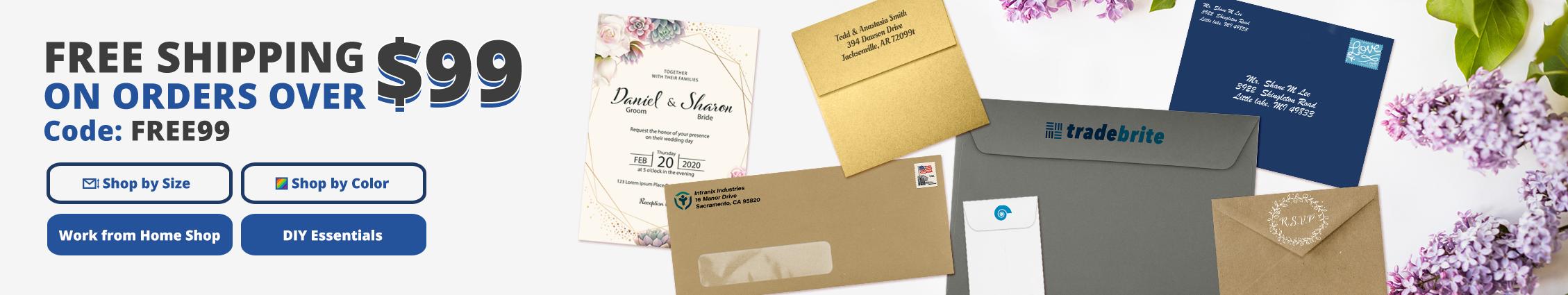 Free Shipping | Envelopes.com