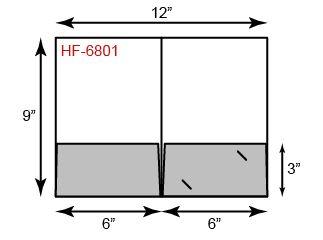 Small Presentation Folders - Standard Two Pocket
