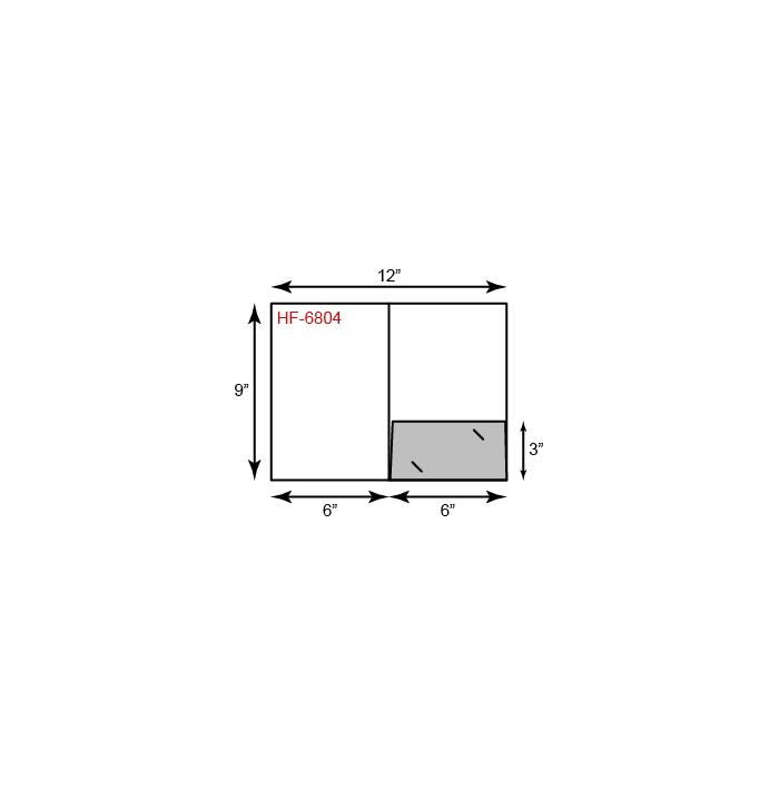 Small Presentation Folders - One Pocket (Right)