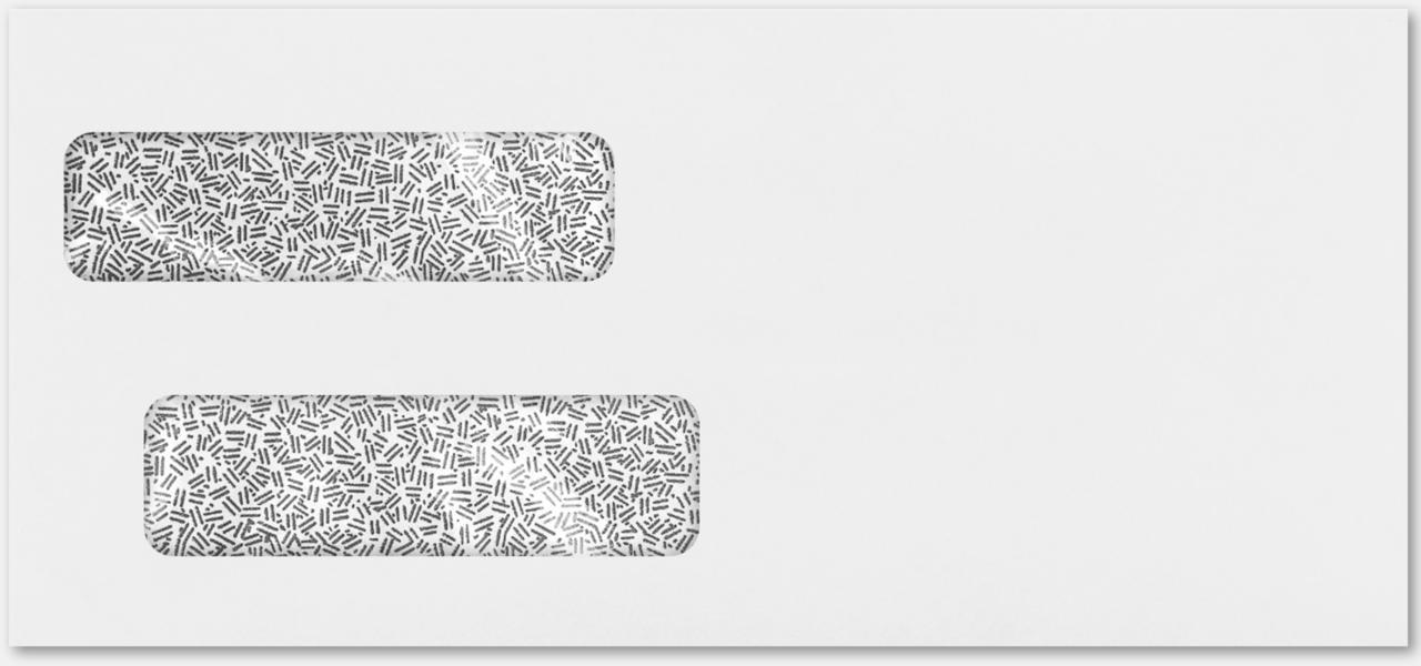 Double Window Invoice Envelopes White X - Quickbooks invoice envelope size