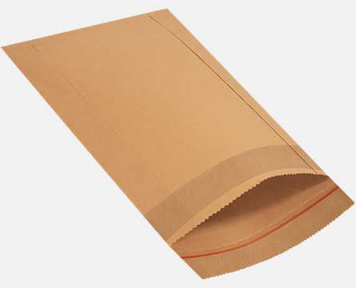 9 1/2 x 13 Jiffy Rigi Bag Mailers Brown Kraft