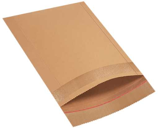 10 1/2 x 14 Jiffy Rigi Bag Mailers Brown Kraft