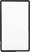 Hotel Key Card Holders (3 3/8 x 6) 100lb. White