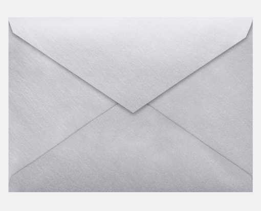 Lee BAR Envelopes (5 1/4 x 7 1/4) Silver Metallic