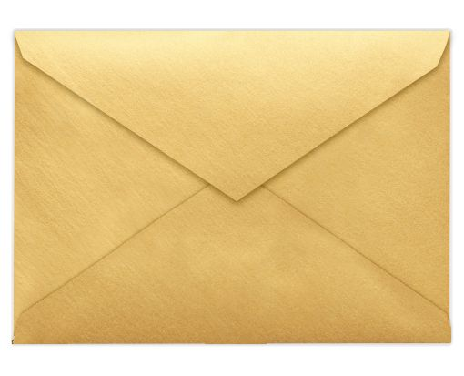 Lee BAR Envelopes (5 1/4 x 7 1/4) Gold Metallic