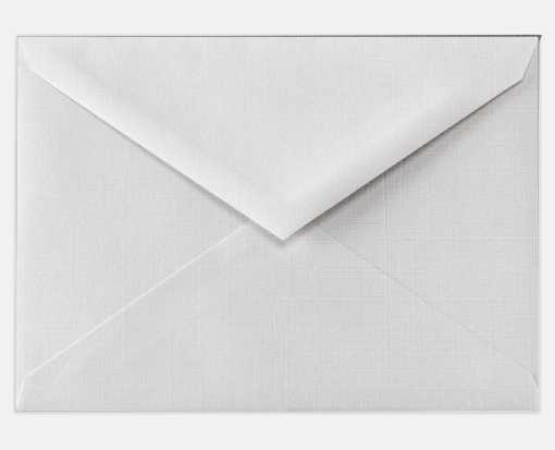 Lee BAR Envelopes (5 1/4 x 7 1/4) White Linen