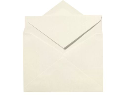 LEE Bar Inner Envelopes (No Glue) (5 1/4 x 7 1/4) Natural White - 100% Cotton