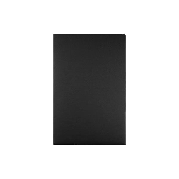 9 1/2 x 14 1/2 Legal Presentation Folders Black Linen