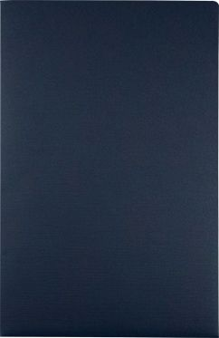 9 1/2 x 14 1/2 Legal Presentation Folders Nautical Blue Linen
