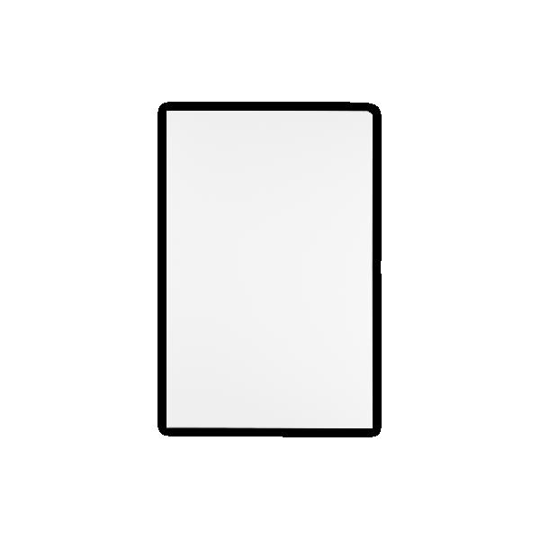 9 1/2 x 14 1/2 Legal Presentation Folders White Linen