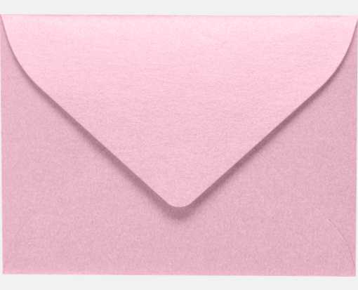 #17 Mini Envelope (2 11/16 x 3 11/16) Rose Quartz Metallic