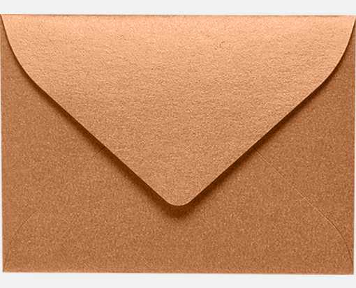 #17 Mini Envelopes Copper Metallic