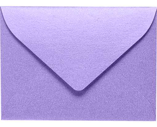 #17 Mini Envelopes Amethyst Metallic