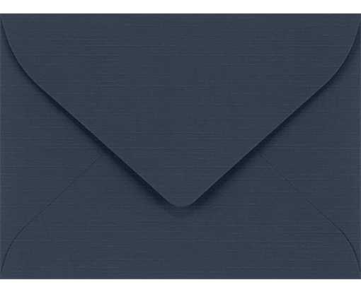 #17 Mini Envelopes (2 11/16 x 3 11/16) Nautical Blue Linen