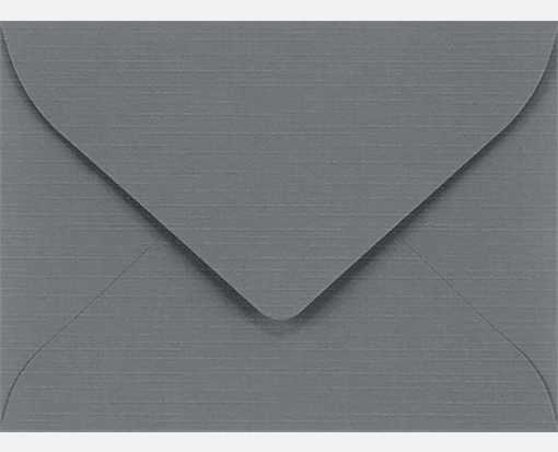 #17 Mini Envelopes (2 11/16 x 3 11/16) Sterling Gray Linen