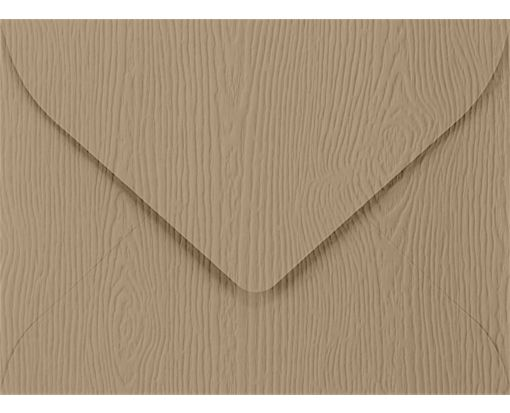 #17 Mini Envelopes (2 11/16 x 3 11/16) Oak Woodgrain