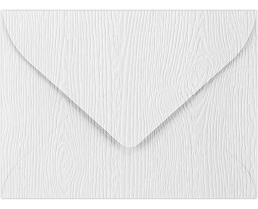 #17 Mini Envelopes (2 11/16 x 3 11/16) White Birch Woodgrain