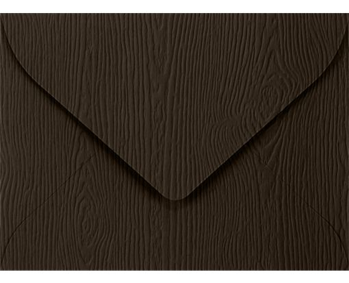 #17 Mini Envelopes (2 11/16 x 3 11/16) Teak Woodgrain