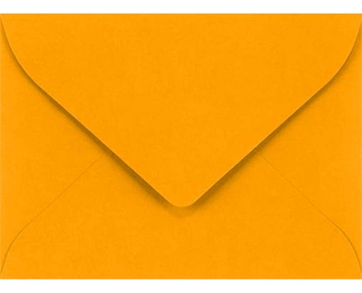 #17 Mini Envelope (2 11/16 x 3 11/16) Electric Orange