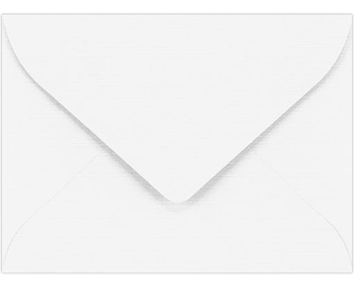 #17 Mini Envelopes (2 11/16 x 3 11/16) White Linen