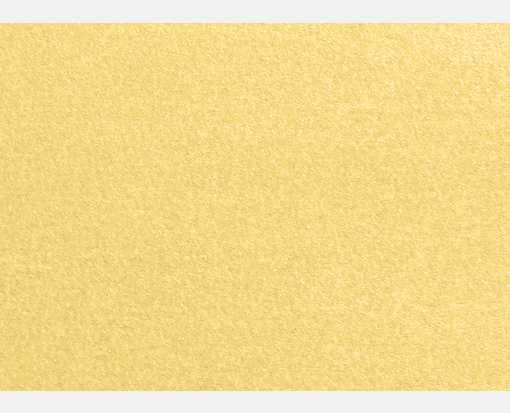 #17 Mini Flat Card (2 9/16 x 3 9/16) Gold Metallic