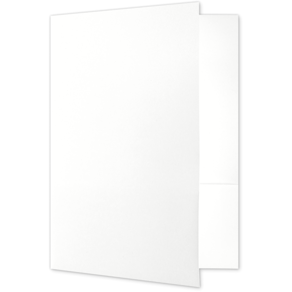 Legal Size Folders Bright White