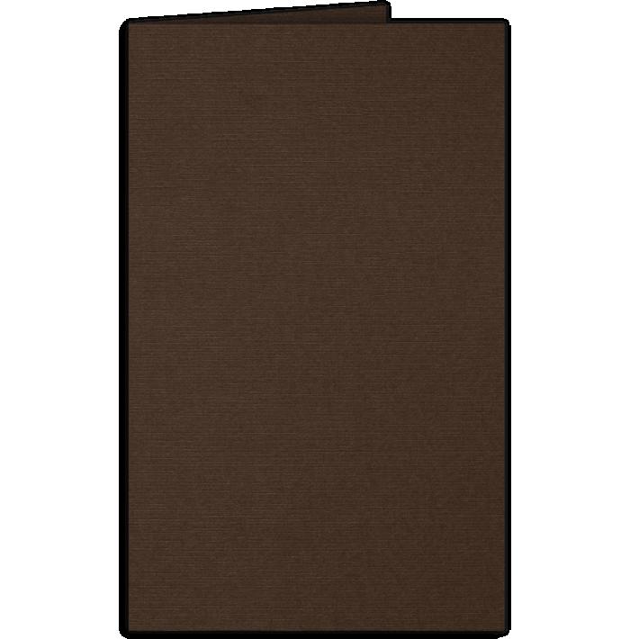 Legal Size Folders Dark Espresso Brown