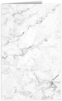 Legal Size Folders White Marble