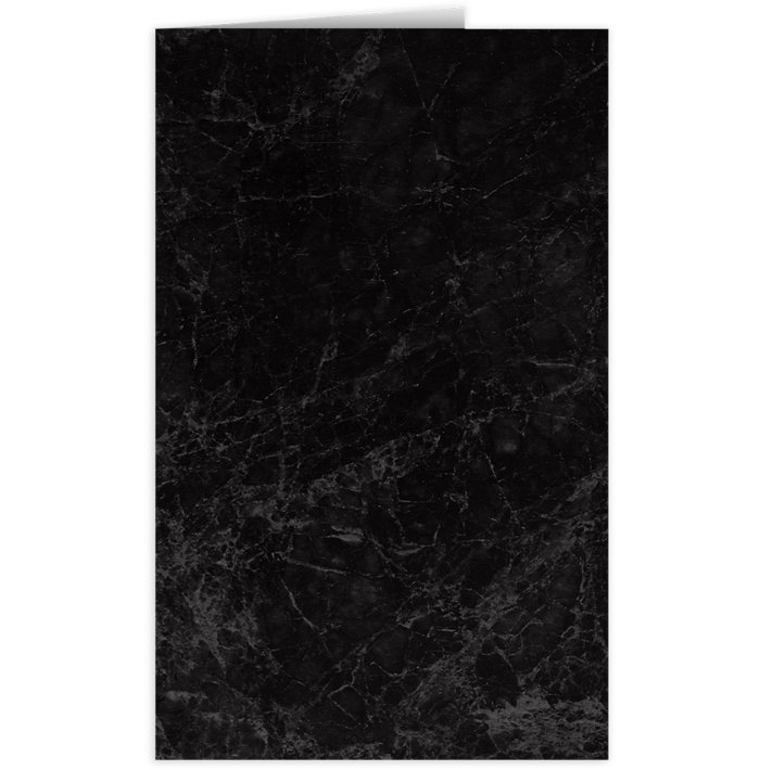 Legal Size Folders Black Marble