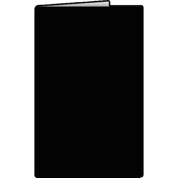 Legal Size Folders Midnight Black