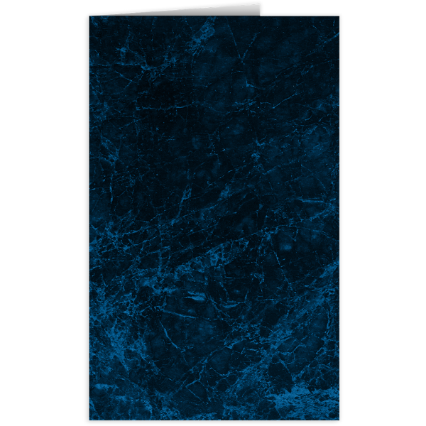 Legal Size Folders Dark Blue Marble