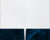 Legal Size Folders Dark Blue Marble