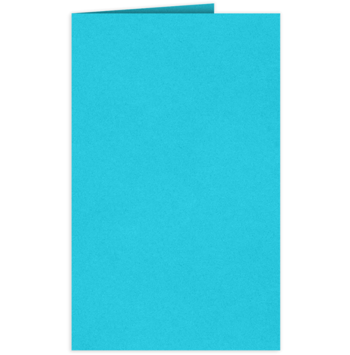 Legal Size Folders Turquoise Blue