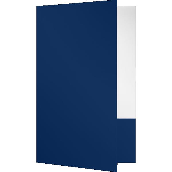 Legal Size Folders Dark Navy Blue