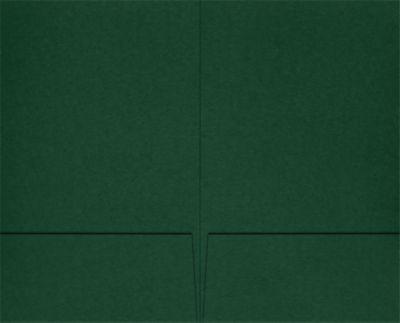 Legal Size Folders Dark Pine Green