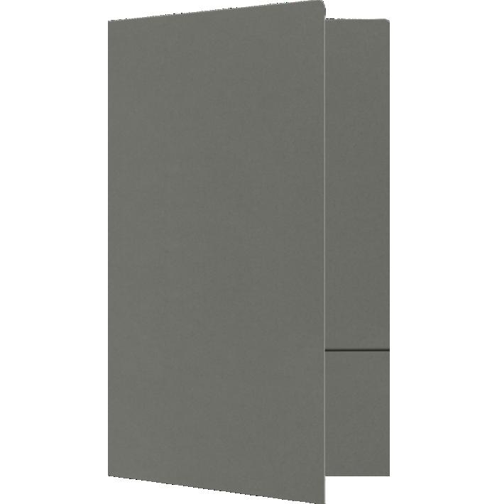 9 x 14 1/2 Legal Size Folders Smoke
