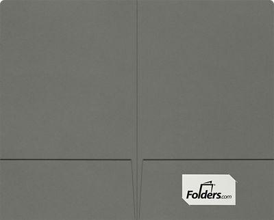 Legal Size Folders - Standard Two Pockets Smoke
