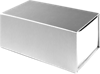 Large Gift Boxes w/ Magnet Silver Metallic