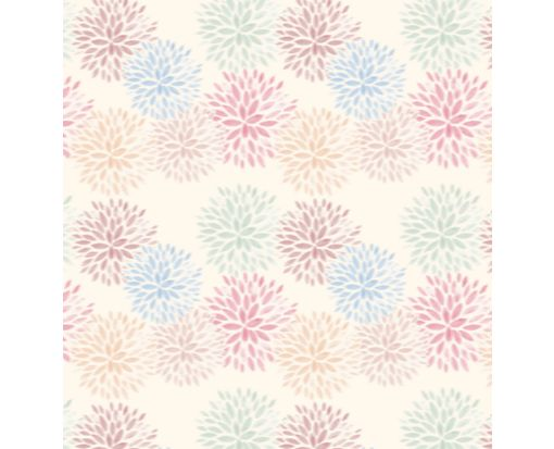 A7 Drop-In Envelope Liners (6 15/16 x 6 5/8) Floral Burst