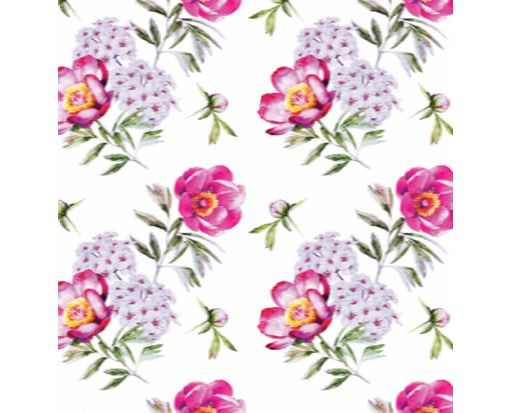 A7 Drop-In Envelope Liners (6 15/16 x 6 5/8) Purple Floral