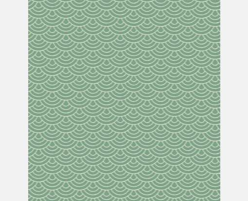 A7 Drop-In Envelope Liners (6 15/16 x 6 5/8) Green Waves